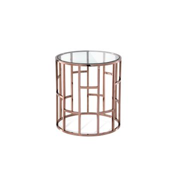 228B-rose-gold-clear-glass-MESA-LATERAL-SELIK-DORADO-ROSA