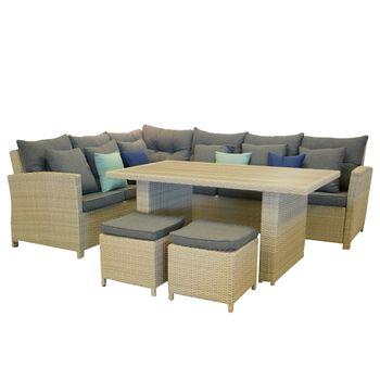 Sofa-Set-Mesa-Comedor-Olympus-con-cojines-2-Azules-y-2-verdes--4-
