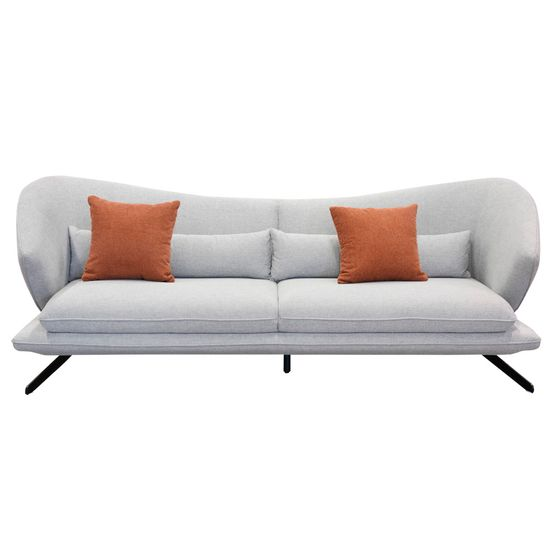 Sofa-3P-Tasha-con-dos-cojines---Gris-Claro